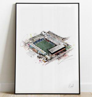 Crystal Palace FC - Selhurst Park art print