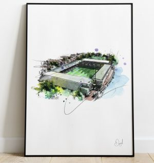 Fulham FC - Craven Cottage art print