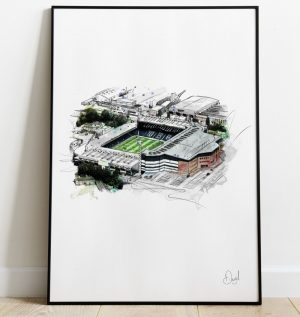 West Bromwich Albion - The Hawthorns art print