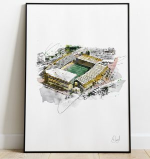 Wolverhampton Wanderers - Molinuex art print