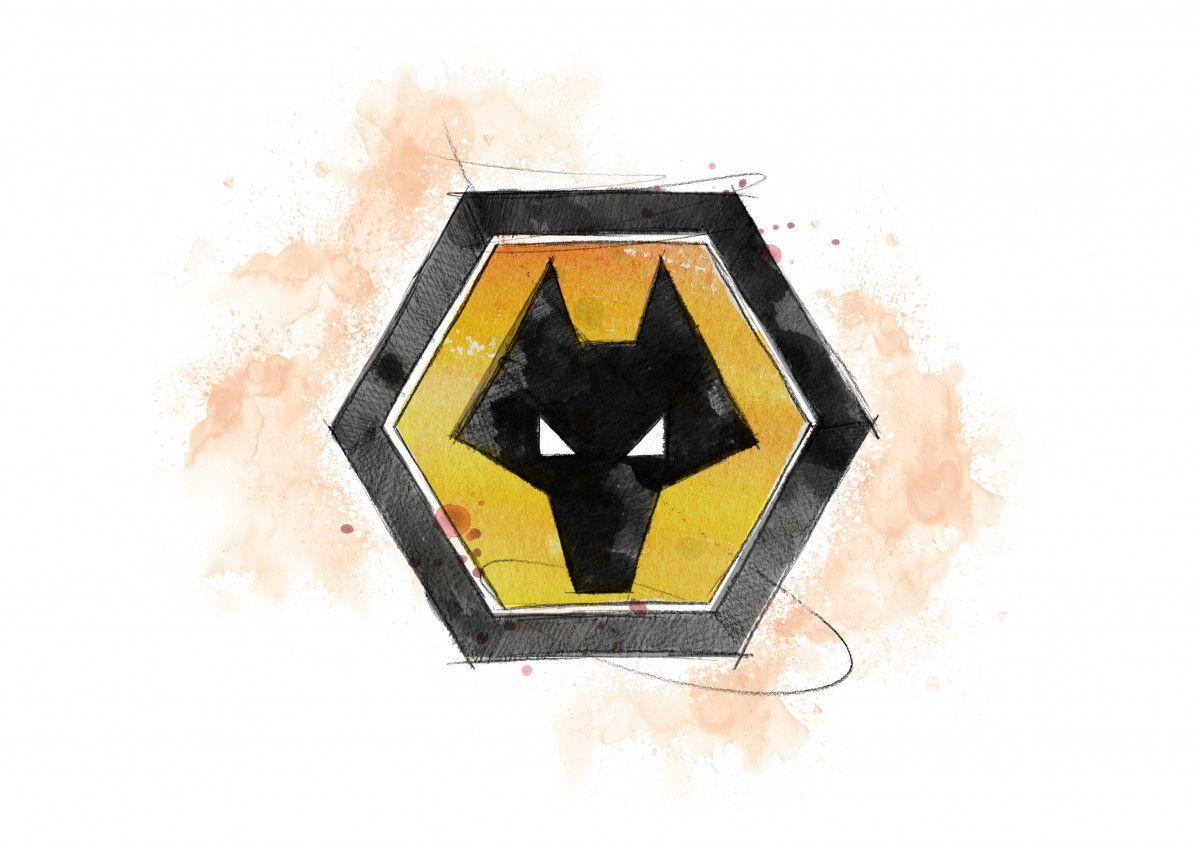 00285 Dm Wolverhampton Wanderers Badge Art