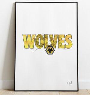 Wolverhampton Wanderers - Wolves art print