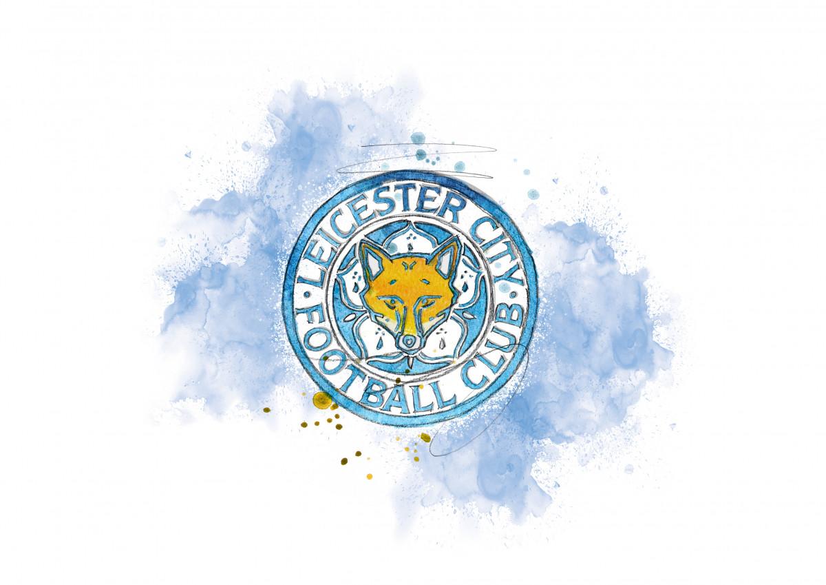 0282 Dm Leicester City Badge Art