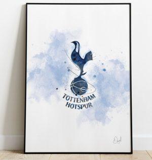 Tottenham Hotspur Badge art print
