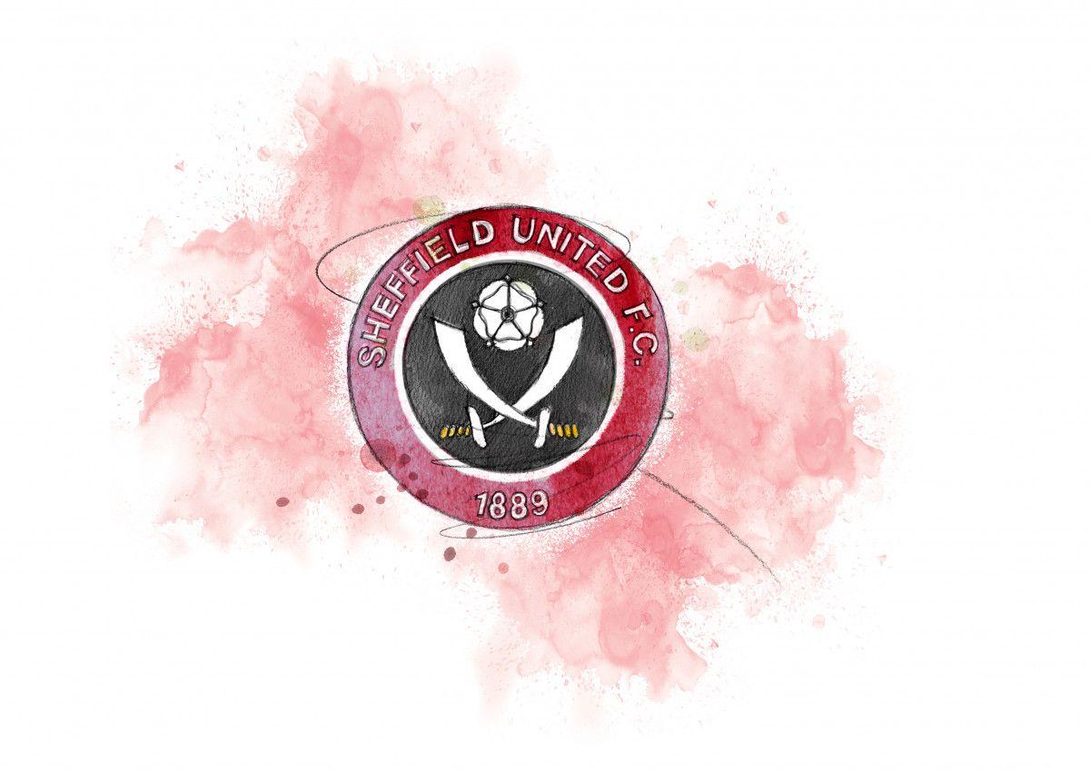 0284 Dm Sheffield United Badge Art