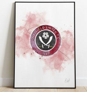 Sheffield United Badge art print