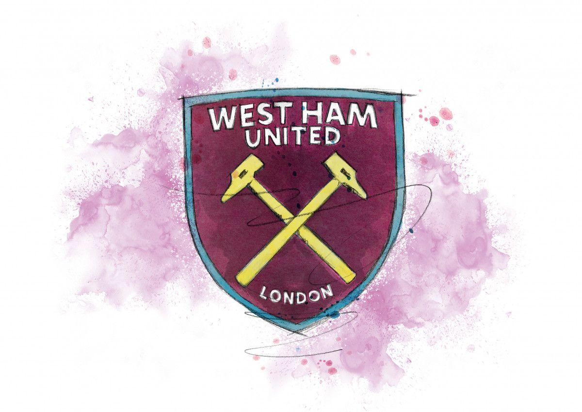 0286 Dm West Ham United Badge Art