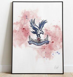 Crystal Palace Badge art print