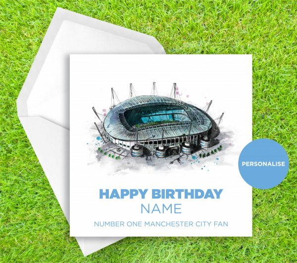 0129 Dm Manchester City Etihad Stadium Greetingscard Greetingscard 1 Web