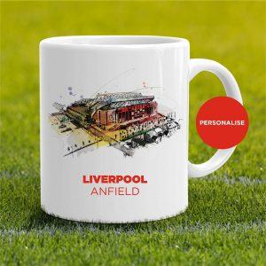 Liverpool - Anfield, personalised Mug