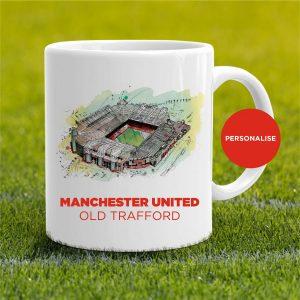Manchester United - Old Trafford, personalised Mug