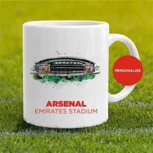 Arsenal - Ermirates Stadium, personalised Mug
