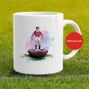 Manchester United - Retro Subbuteo, personalised Mug