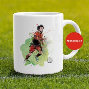 Liverpool - Mo Salah, personalised Mug