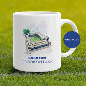 Everton - Gooodison Park, personalised Mug