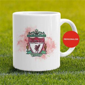 Liverpool - Badge, personalised Mug