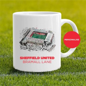 Sheffield United - Brammall Lane, personalised Mug
