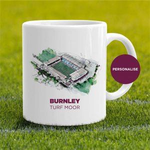 Burnley - Turf Moor, personalised Mug