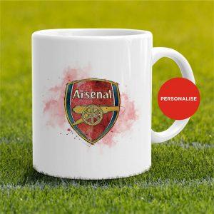 Arsenal - Badge, personalised Mug