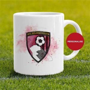 AFC Bournemouth - Badge, personalised Mug