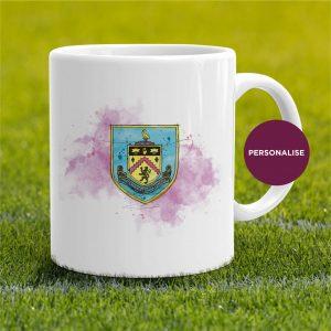 Burnley - Badge, personalised Mug