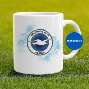 Brighton - Badge, personalised Mug