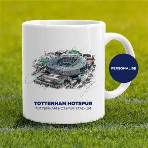 Tottenham Hotspur - Tottenham Hotspur Stadium, personalised Mug