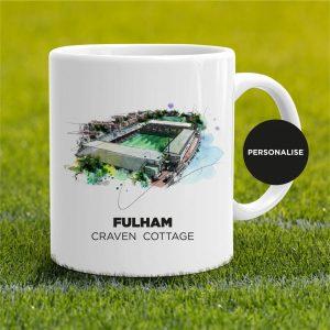 Fulham - Craven Cottage, personalised Mug