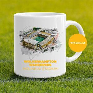Wolverhampton Wanderers - Molineux, personalised Mug