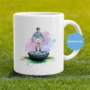 Manchester City - Retro Subbuteo, personalised Mug