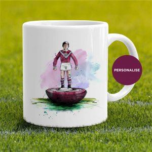 Burnley - retro Subbuteo, personalised Mug
