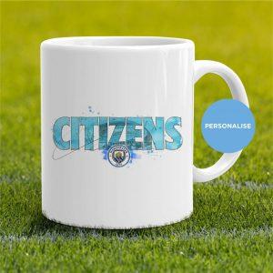 Manchester City - Citizens, personalised Mug