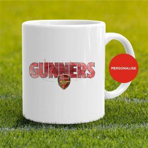 Arsenal - Gunners, personalised Mug