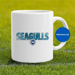 Brighton - Seagulls, personalised Mug