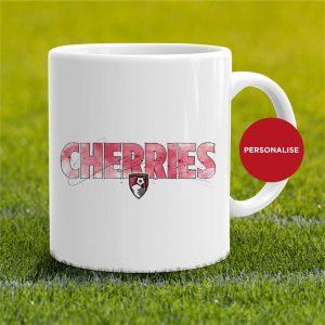AFC Bournemouth - Cherries, personalised Mug
