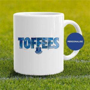 Everton - Toffees, personalised Mug