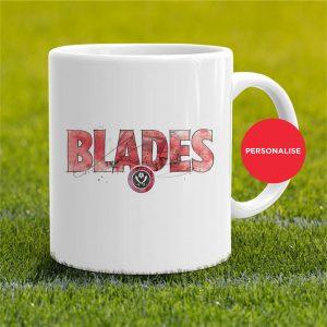 Sheffield United - Blades, personalised Mug