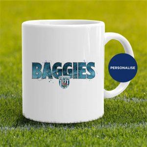 West Bromwich Albion - Baggies, personalised Mug