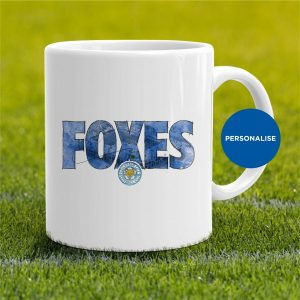 Leicester City - Foxes, personalised Mug