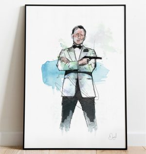 James Bond - Spectre art print