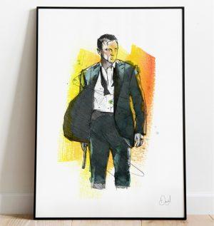James Bond - Casino Royale art print