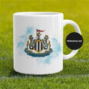Newcastle United - Badge, personalised Mug