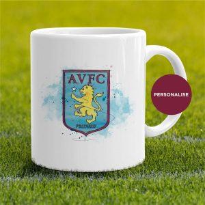 Aston Villa - Badge, personalised Mug