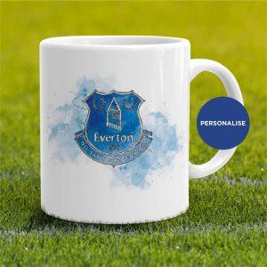 Everton - Badge, personalised Mug