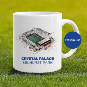 Crystal Palace - Selhurst Park, personalised Mug