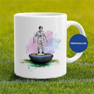 Leeds United - Subbuteo, personalised Mug