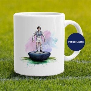 Tottenham Hotspur - Retro Subbuteo, personalised Mug