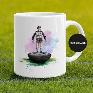 Fulham - Retro Subbuteo, personalised Mug