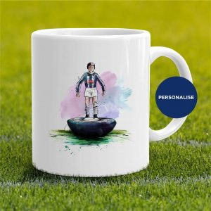 West Bromwich Albion - Retro Subbuteo, personalised Mug