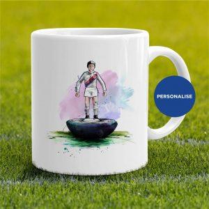 Crystal Palace - Retro Subbuteo, personalised Mug